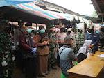 Ratusan Pedagang Pasar di HSS di Rapid Tes, Ini Pesan Bupati