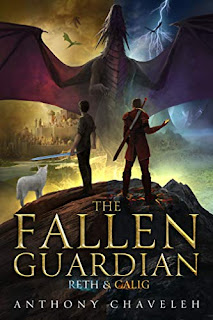 The Fallen Guardian - a debut young adult fantasy book promotion sites Anthony Chaveleh