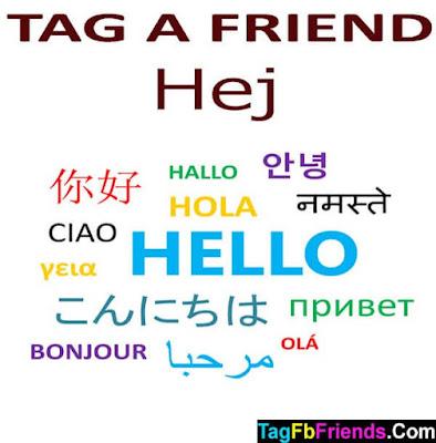 Hi in Danish language