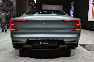 Polestar 1 hybrid electric vehicle