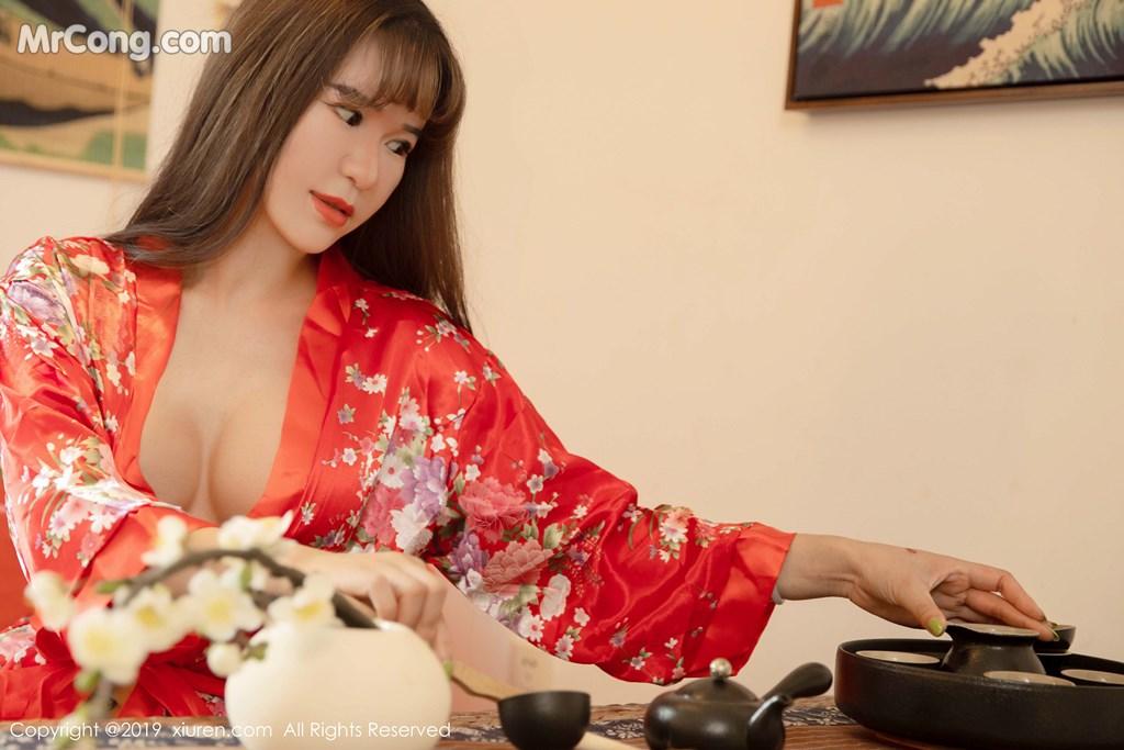Image XIUREN-No.1647-Wang-Zi-Lin-MrCong.com-002 in post XIUREN No.1647: Wang Zi Lin (王紫琳) (83 ảnh)