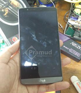 handphone LG G3 rusak layar lcd dan touchscreen - pramud blog