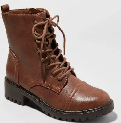 Kamryn Lace Up Combat Boot