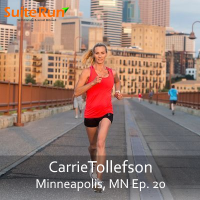 20 | Minneapolis, MN with Carrie Tollefson: Running in The Twin Cities