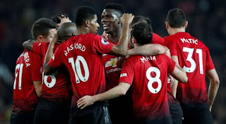 Man United beat Tottenham 1 - 0 as they push for top four finish