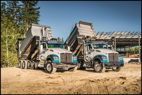 PGH Excavating Kenworth T880S Dump Trucks