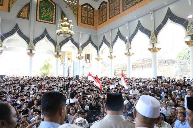 Tokoh NU Tegal: Pilih Prabowo, kalau ingin Indonesia TOP
