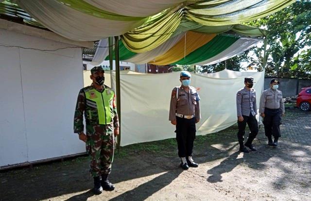 Pelaksanaan PPKM Skala Micro Dilaksanakan Personel Jajaran Kodim 0207/Simalungun Diwilayah Binaan