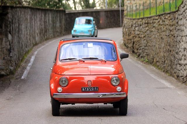 Passeios de Fiat 500 por Florença