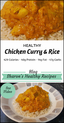 healthy chicken curry and rice recipe