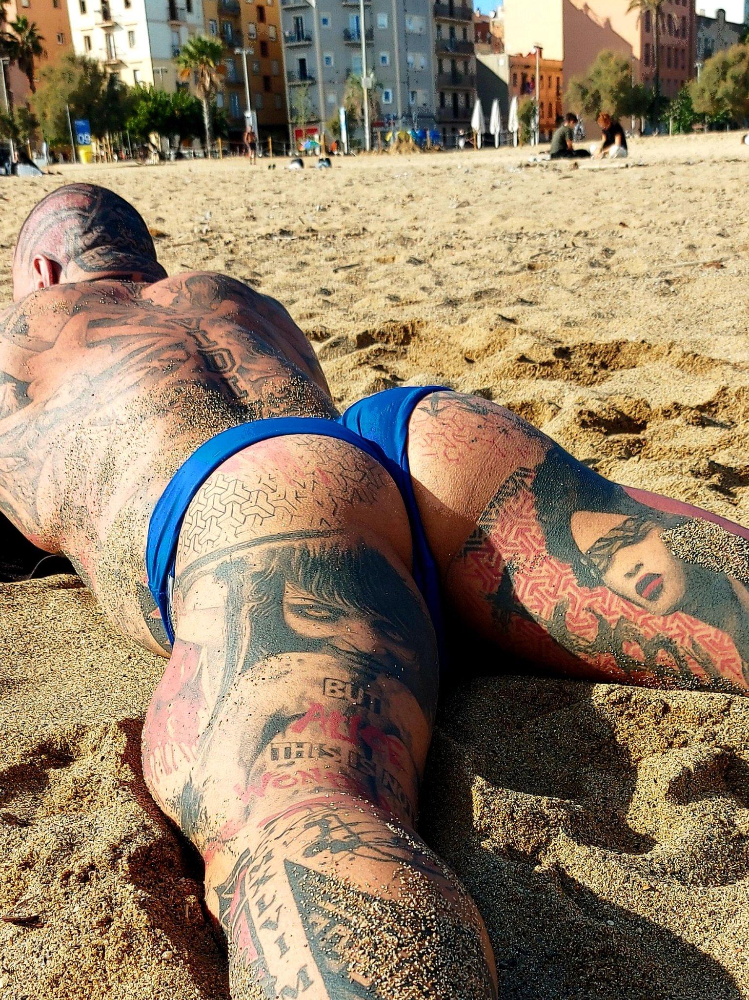 diesel porno en la playa