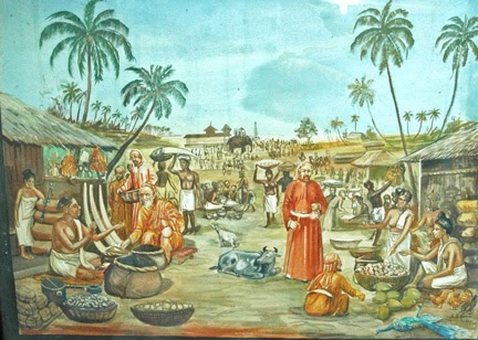 Jews Of Cochin Paintings In The Paradesi Synagogue