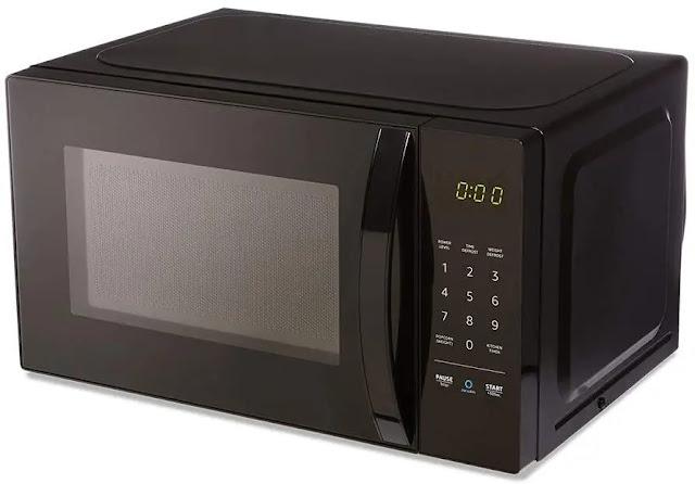 1. AmazonBasics Microwave Small Works Alexa