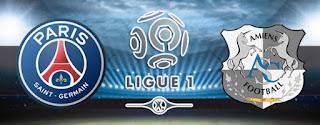 مباراة باريس سان جيرمان وأميان بث مباشر