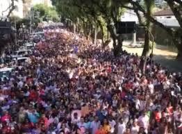 Manifestação em Salvador-BA,17 de junho de 2013.