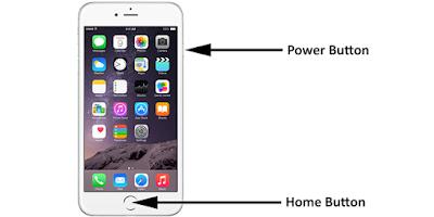 Cách chụp màn hình điện thoại iphone