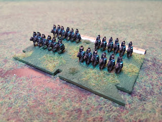6mm Cavalry figures for the French 1815 Army