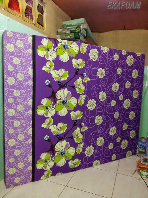 kasur inoac ungu bunga april INOAC EKAFOAM