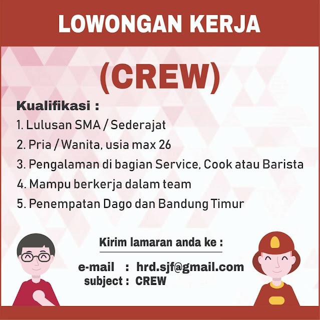 Lowongan Crew Ayam Geprek Pangeran