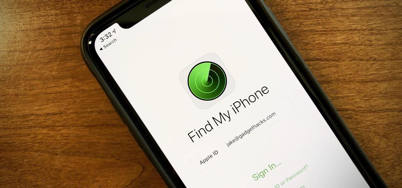 2- خاصية العثور على الهاتف المقدمة من شركة أبل للأيفون