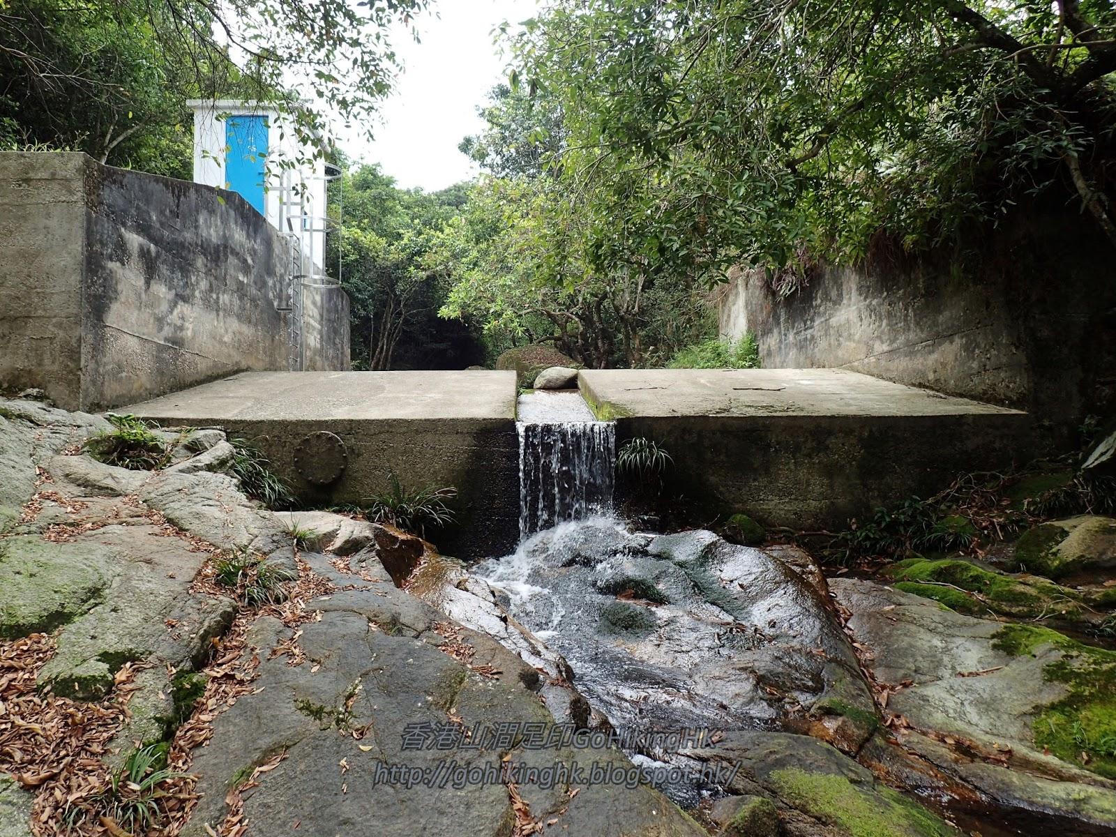 香港山澗足印 GoHikingHK: 馬麗口坑左源