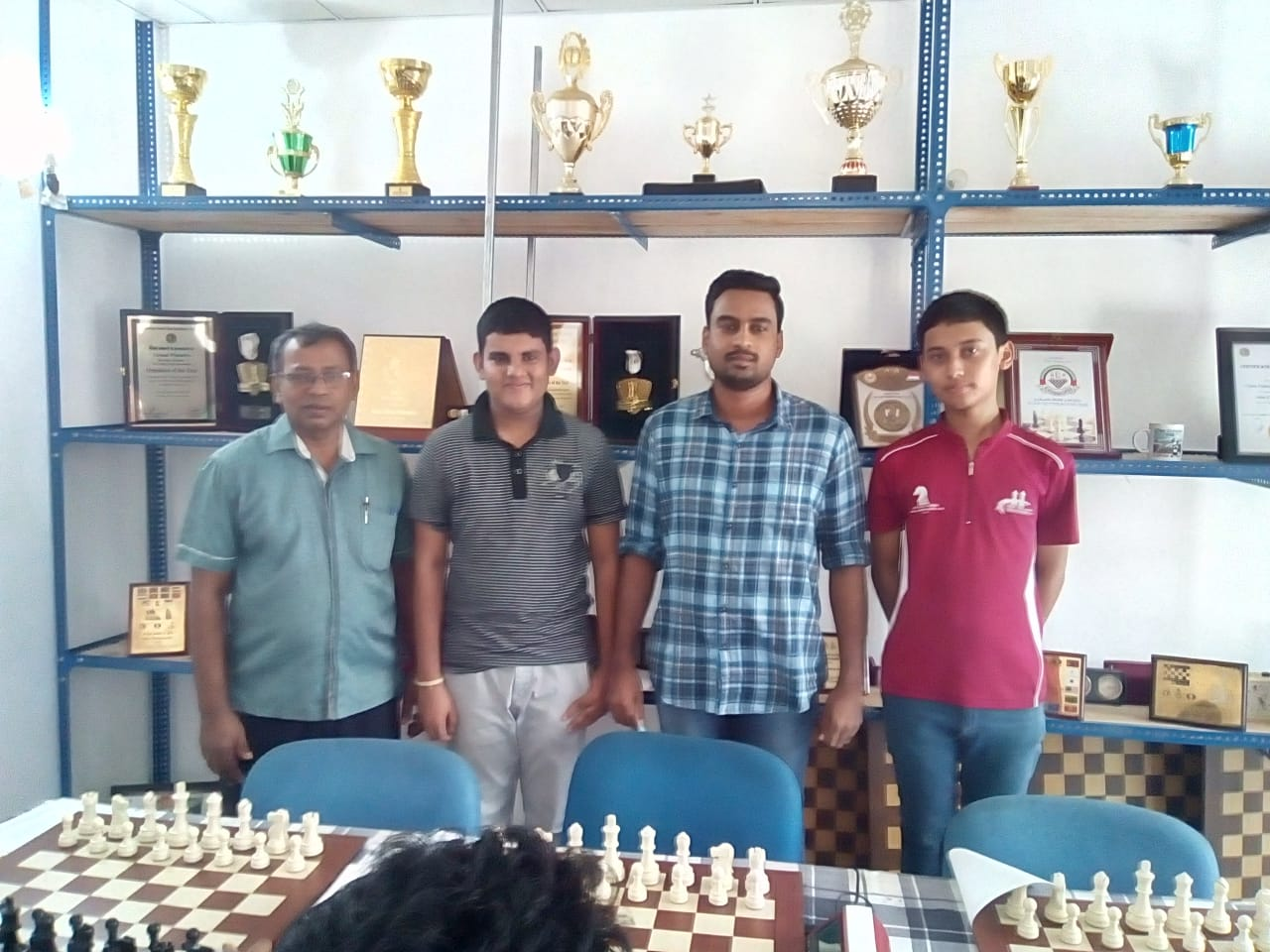 Gampaha District National Chess Players Recognized by GDCA