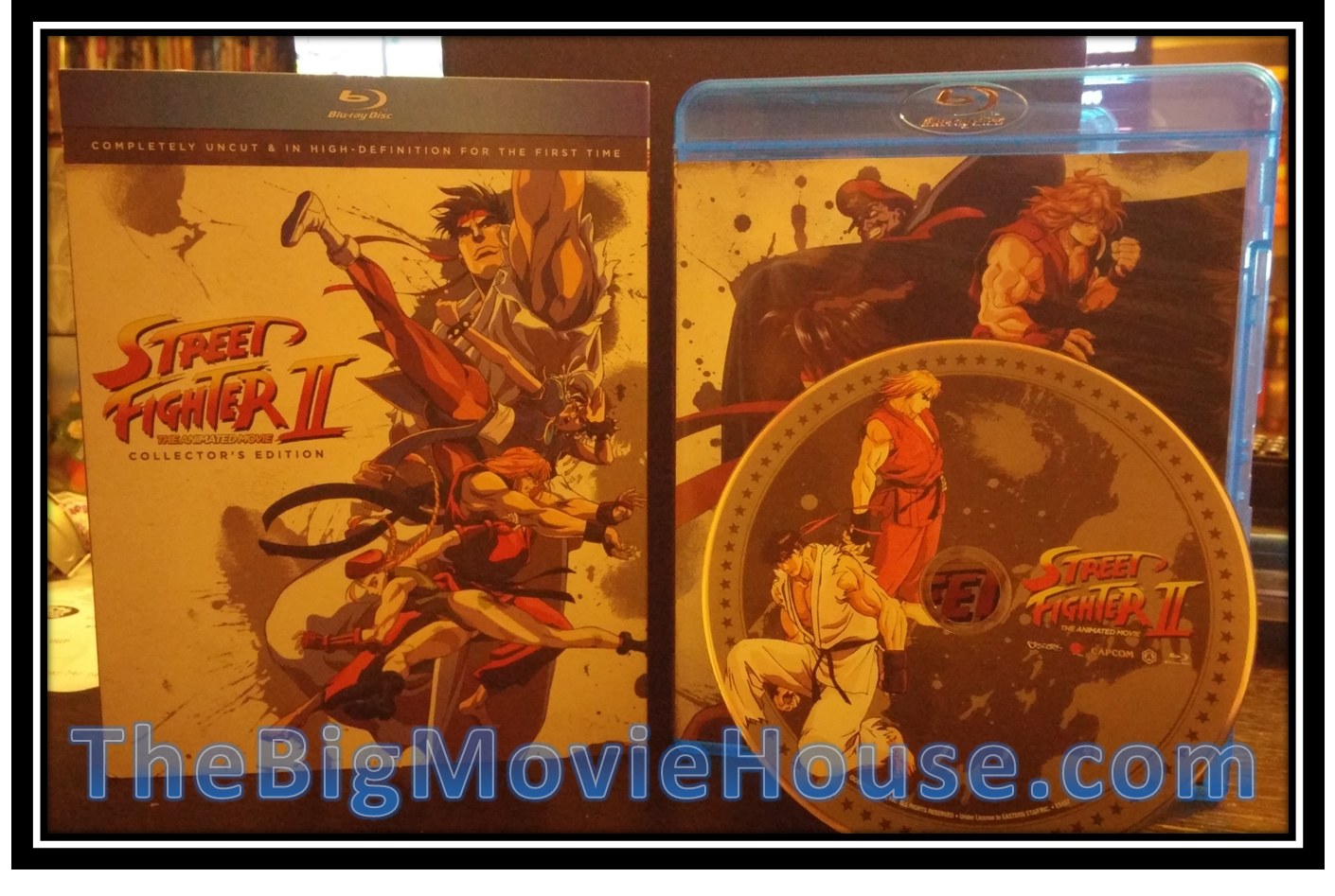 Street Fighter Ii The Animated Movie Discotek Blu Ray Review