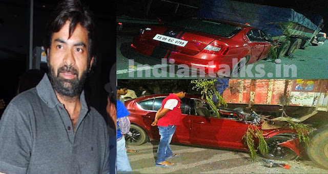 Ravi Teja Brother Bharat Died in a Car Crash