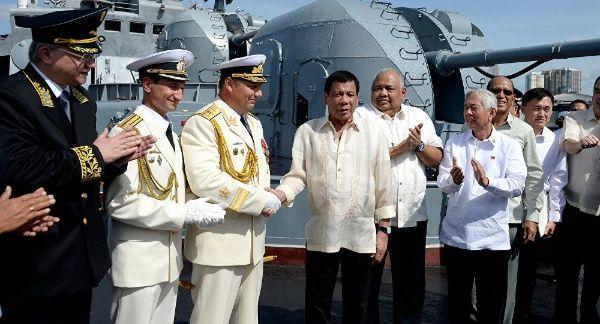 Duterte abre las puertas de Filipinas a cooperación rusa