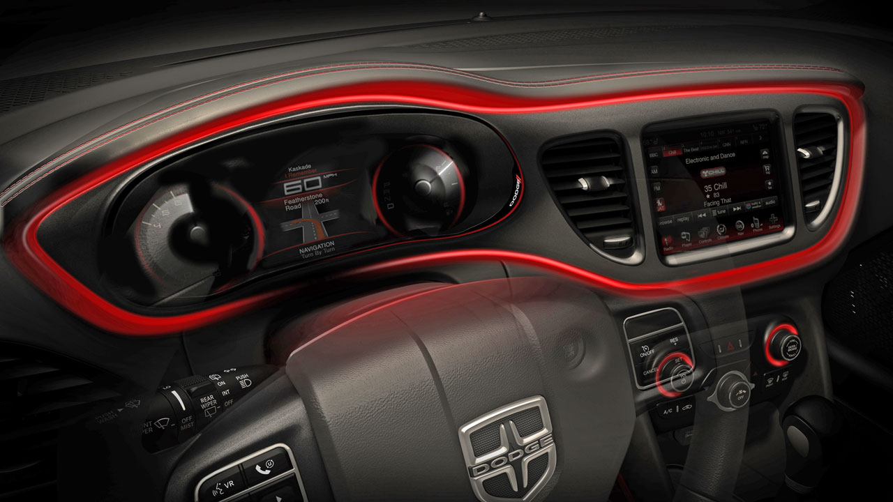 Dodge Dart Philippines >> Dodge Teases 2013 Dart Interior | Philippine Car News, Car Reviews, Automotive Features, and New ...