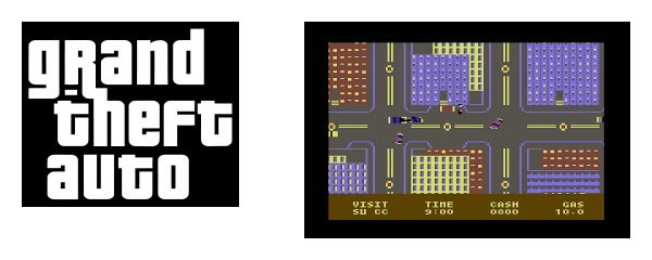 GTA C64 - New York City, de Synapse.