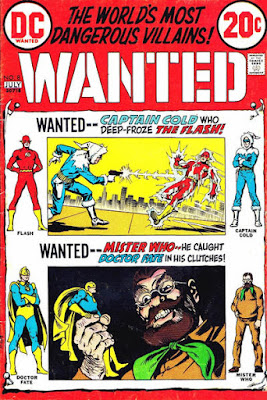 Wanted: The World's Most Dangerous Villains #8, the Flash and Dr Fate
