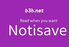 تحميل برنامج notisave للايفون و للاندرويد و للكمبيوتر