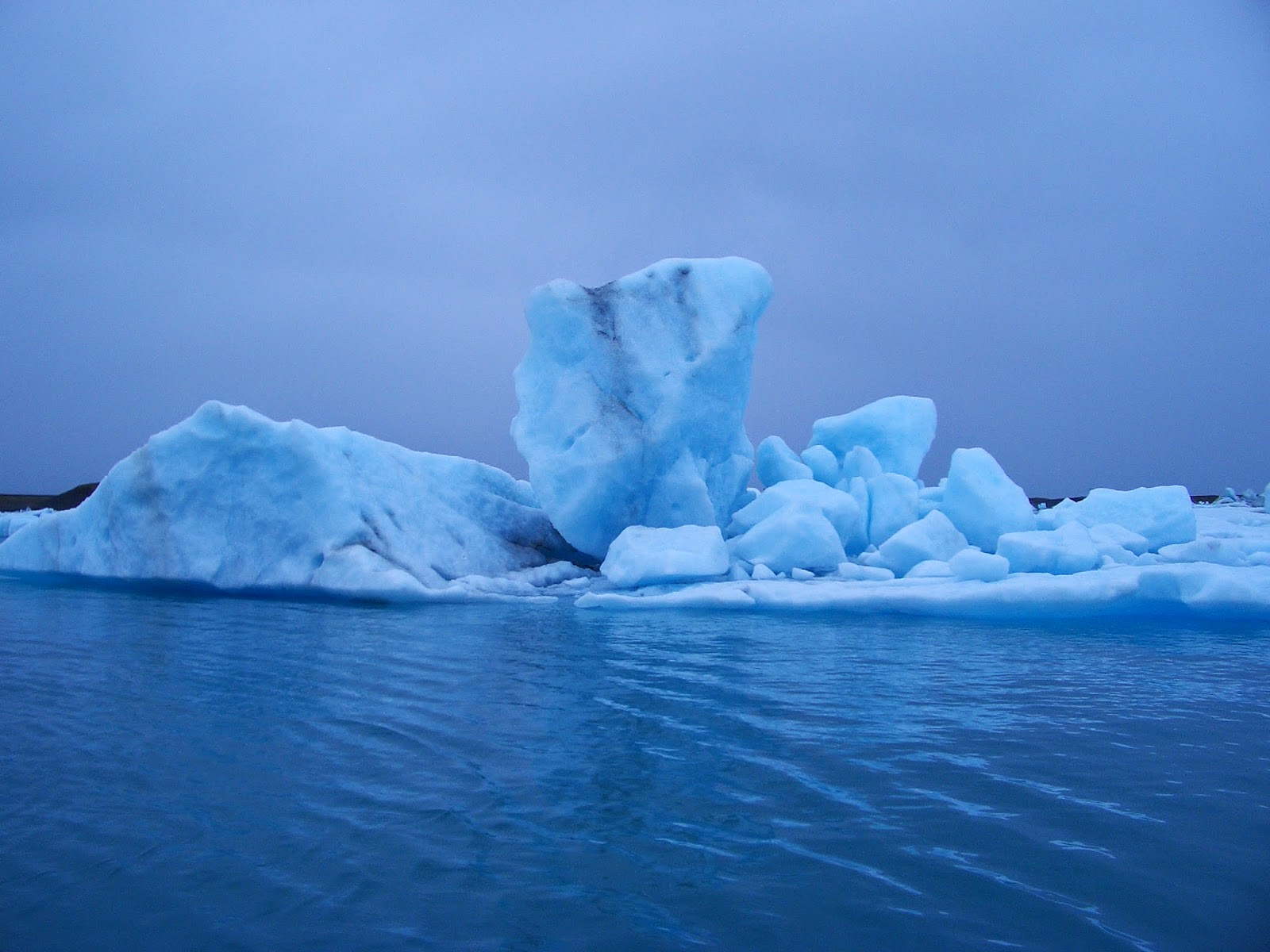 Islandia, hielo azul