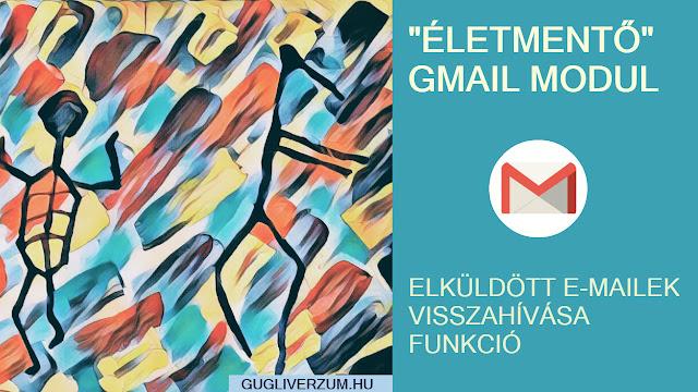 Gmail email visszavonása