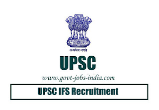 UPSC IFS Notification 2020