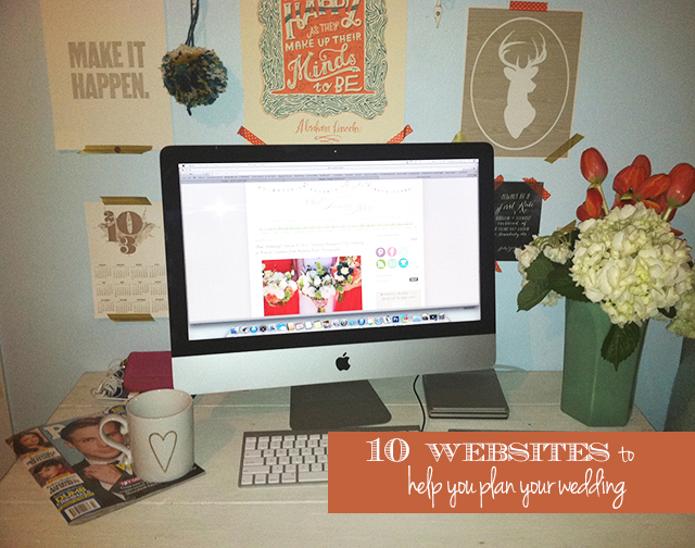 10 Websites to Help You Plan Your Wedding from Oh Lovely Day