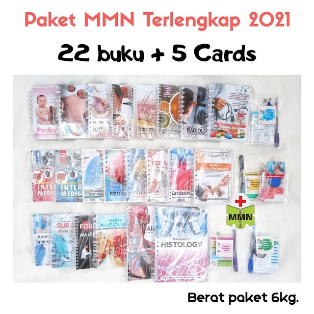 Paket Medical Mini Notes (Mini Notes Preklinik & Coass -Sesuai sistem / Blok,  Basic Medical Science Notes -Materi Kedokteran Dasar, Medical Mini Cards--kartu referensi praktis berukuran ID Card)