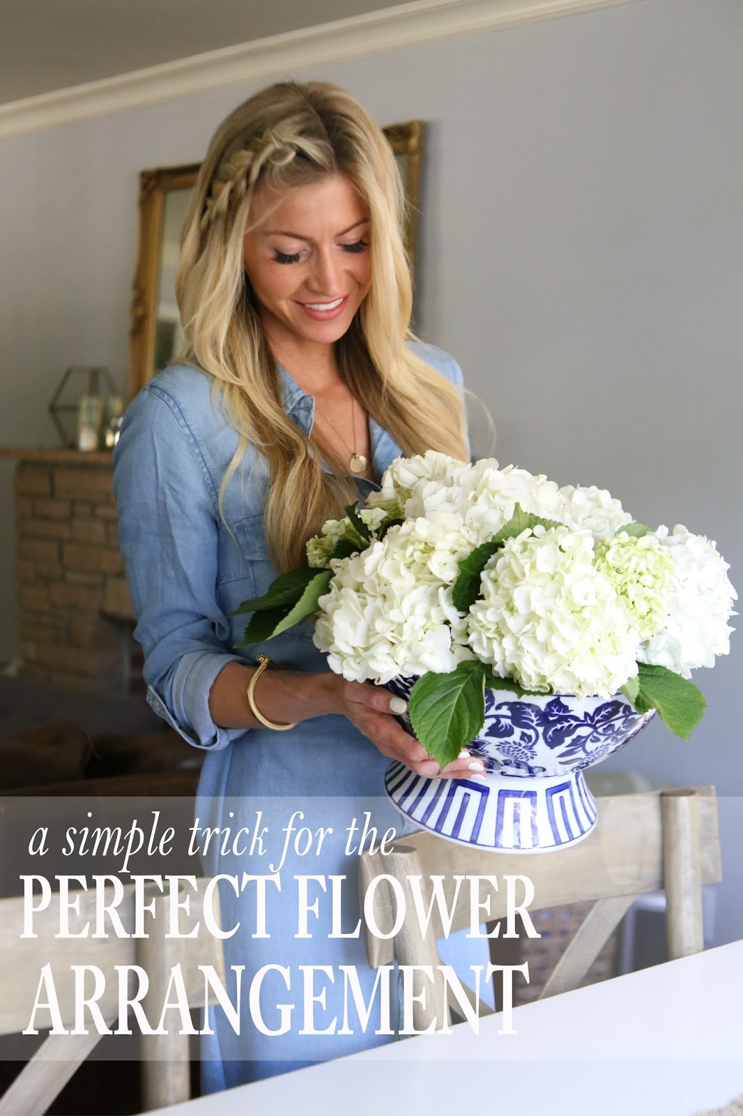 A SIMPLE TRICK FOR THE PERFECT SPRING FLOWER ARRANGEMENT {TUTORIAL}