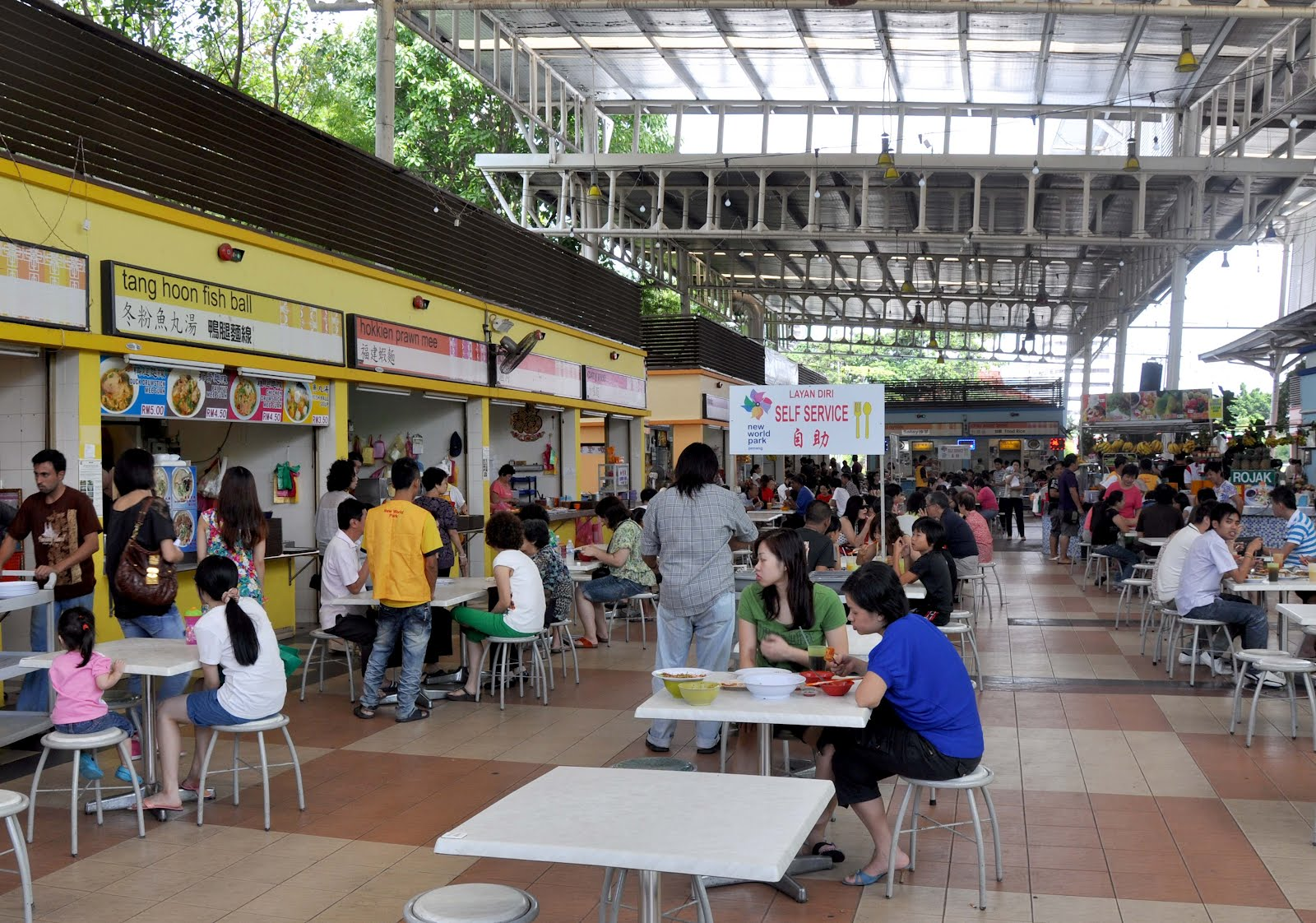 Penang 2011 - New World Park Food Court