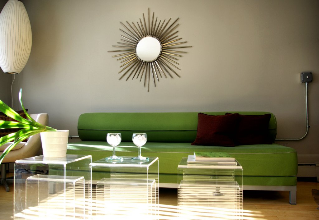 Lying Green Sofa Living Room Ideas Bracing Your Guest