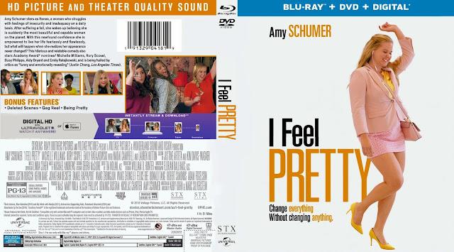 I Feel Pretty (scan) Bluray Cover