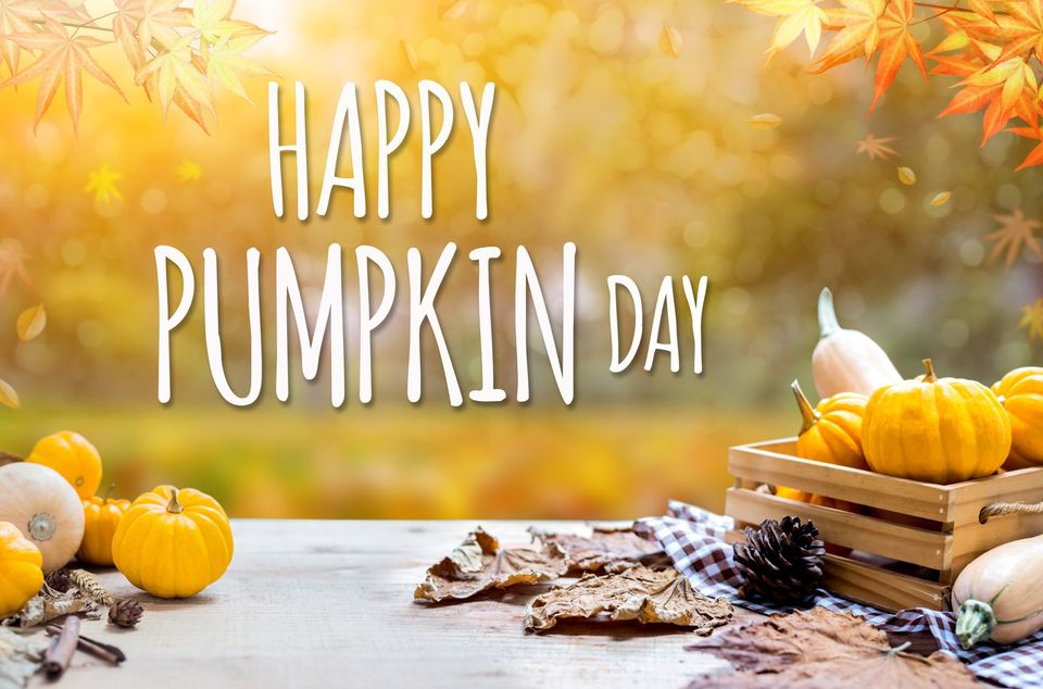 National Pumpkin Day Wishes Photos
