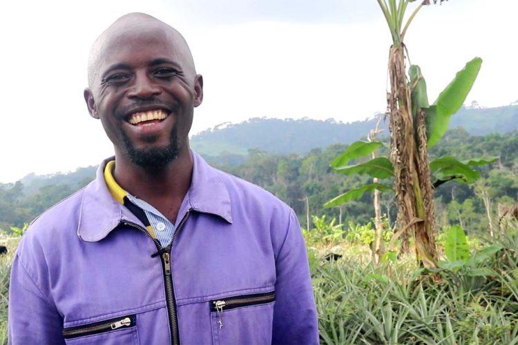 Aureol Sinclair Mbakop - Agriculteur camerounais