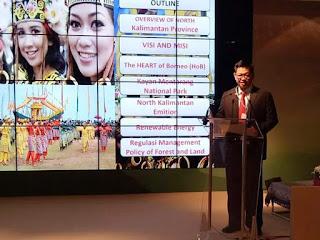 FB IMG 1510649820943 - Gubernur Kalimantan Utara Menjadi Narasumber Di Forum Perubahan Iklim Sedunia Di Jerman.