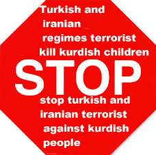 stop iranian and turkish terrorist against kurdish peoples