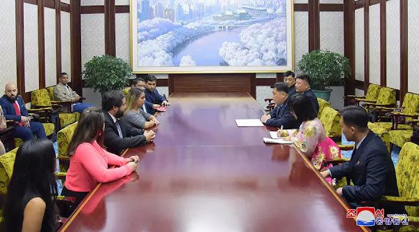 Talks between Pak Chol Min and Rodbexa Poleo, November 17, 2019