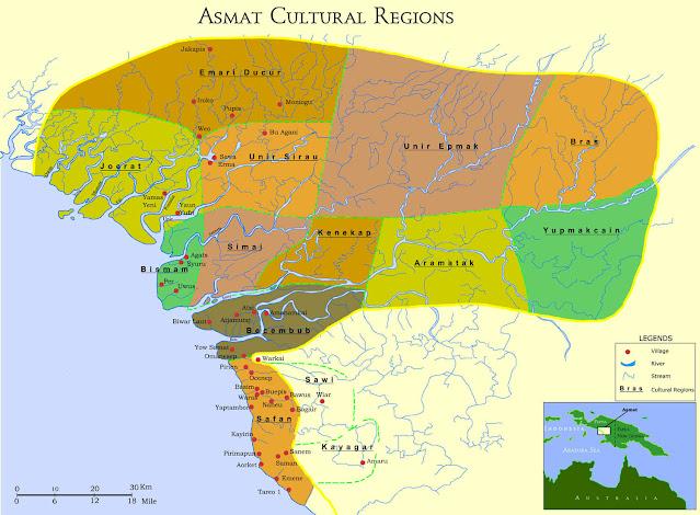 Sejarah Suku Asmat