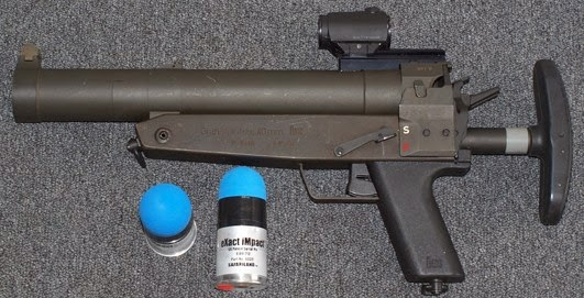 New Zealand Shooter Wikipedia: On Target Shooter Nz: NZ POLICE XM1006 Non Lethal SPONGE ROUND