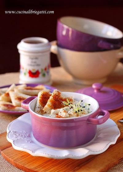 crema cavolfiore gorgonzola paprika